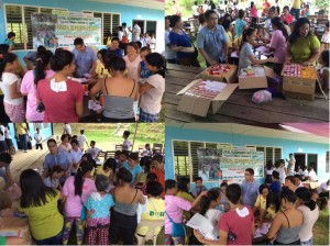 Free Healthcare Services in Brgy. Adiangao